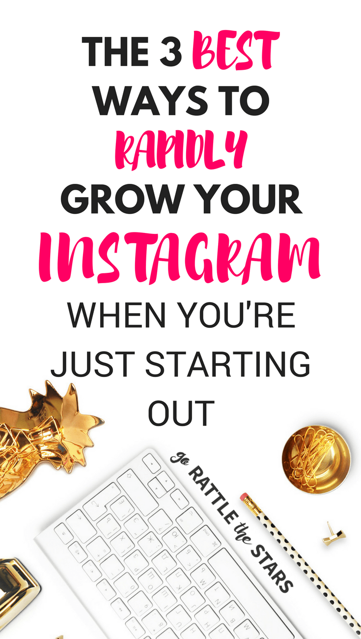 Struggling To Grow Your Instagram Audience? Learn The Best 3 Growth Methods On Instagram For Beginners -- The Same Ones Brie Used To Grow Her Account To 10k In 3 Months!