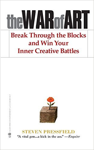 The War of Art, best creative business books