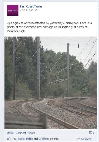 Tallington ECML (East Coast trains)