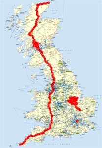 UK cycled map (25-11-2013)