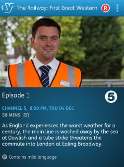 The Railway: First Great Western - 04-12-2014 (YouView app)