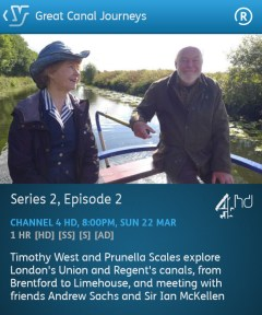 Great Canal Journeys 22-03-2015 (YouView app)