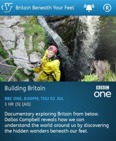 Britain Beneath Your Feet - 02-07-2015 (YouView app)