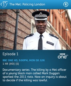 The Met: Policing London - 08-06-2015 (YouView app)
