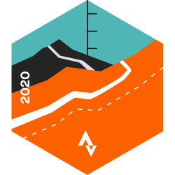 September 2020 Cycling Climbing Challenge