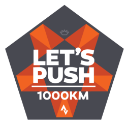 Let's Push 1000km
