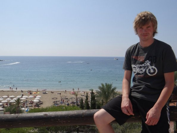 Myself at Coral Bay, Cyprus