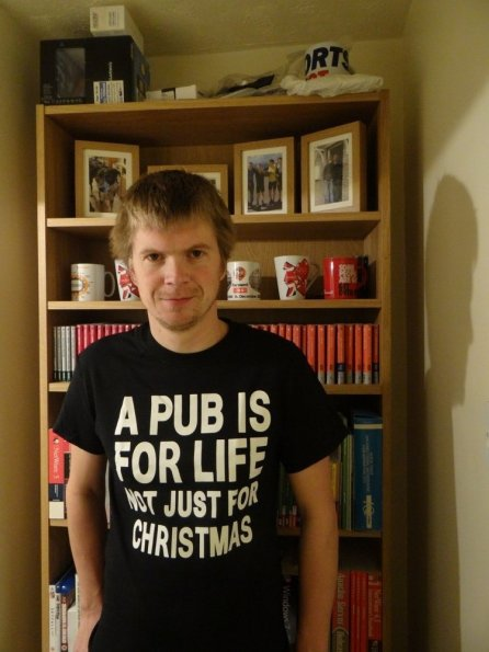 A pub is for life not just Christmas t-shirt