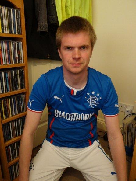 Rangers Home kit