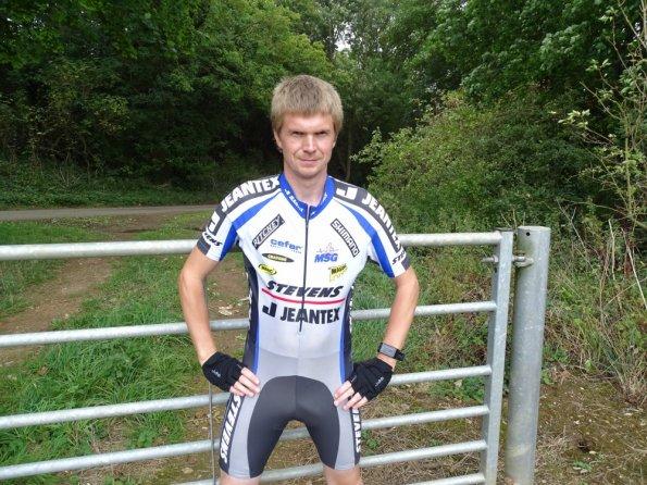 Stevens racing suit