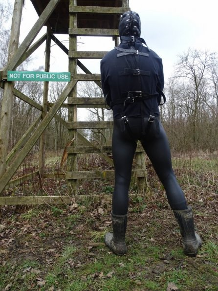 Wetsuit, straitjacket then hooded