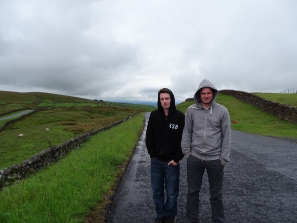 Nick and myself at Stainmore