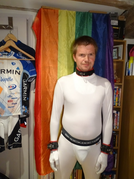 White Morphsuit