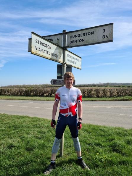 Hunter inline skinsuit Team Britain 2018