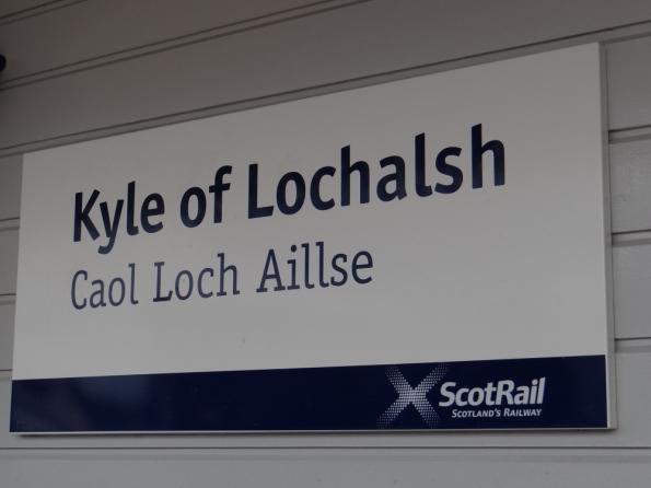 Kyle of Lochalsh railway station
