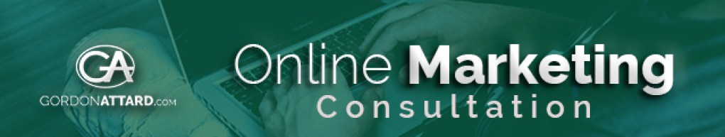 Gordon Attard Online Marketing Consultation