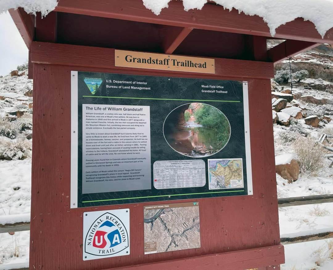 Grandstaff Trailhead