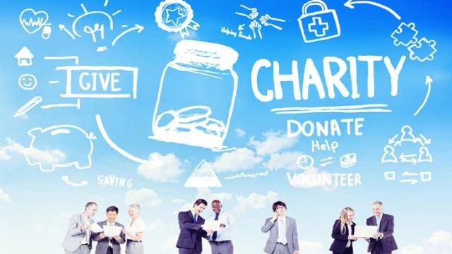 Charity blue skies