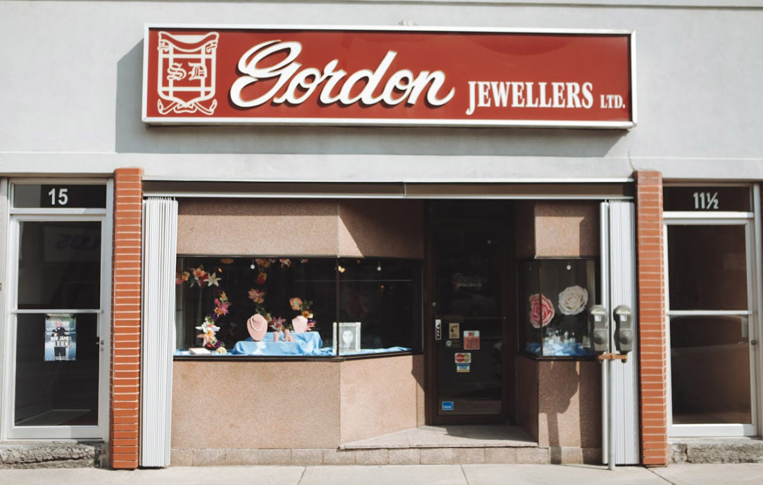 gordon jewellwes store front