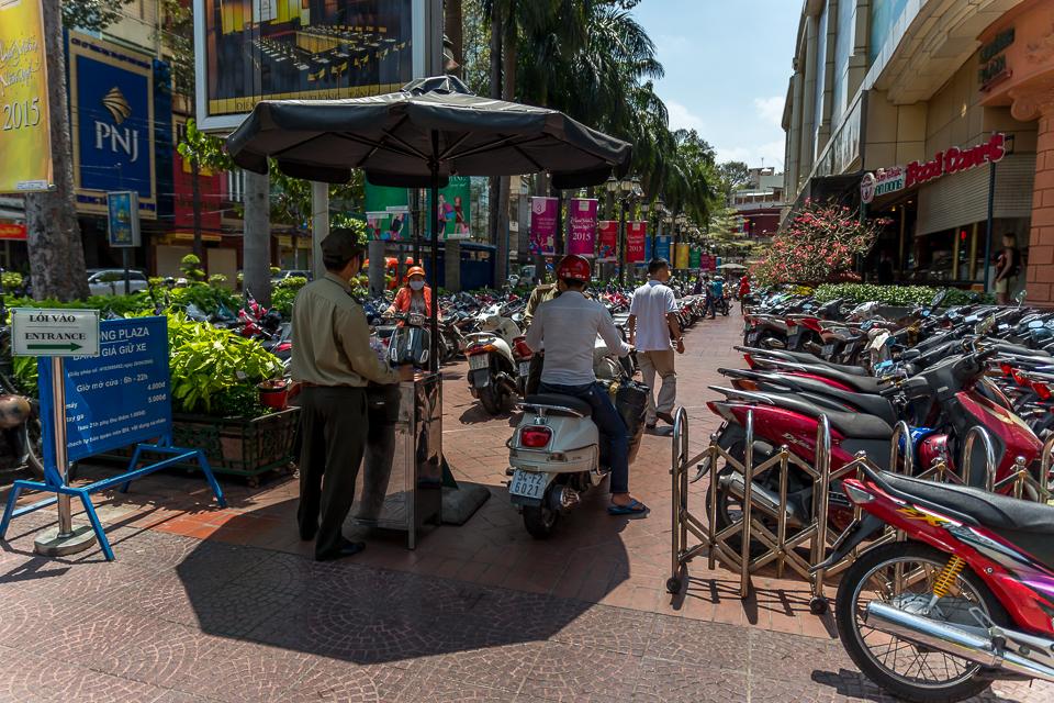 Parkplatz Saigon