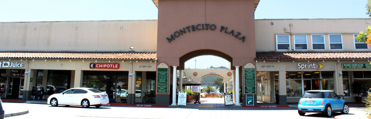 Montecito Plaza Entrance - photo by Maggie Perkins 2017