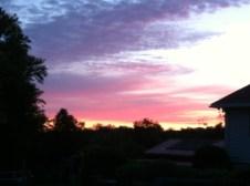 Sunset at Gordon's Park on Manitoulin Island