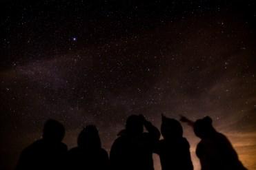 stargazing with friends at Gordon's Park Stargazing Nighthike