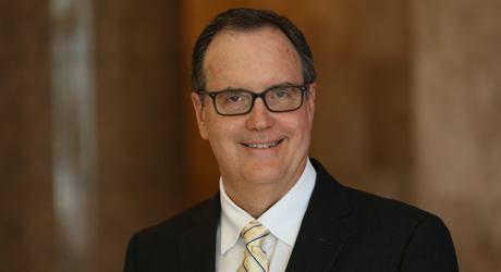 James C Gordon attorney at Gordon & Sykes smiling head shot professional lawyer dfw area