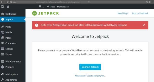 Risultati immagini per jetpack 403 error