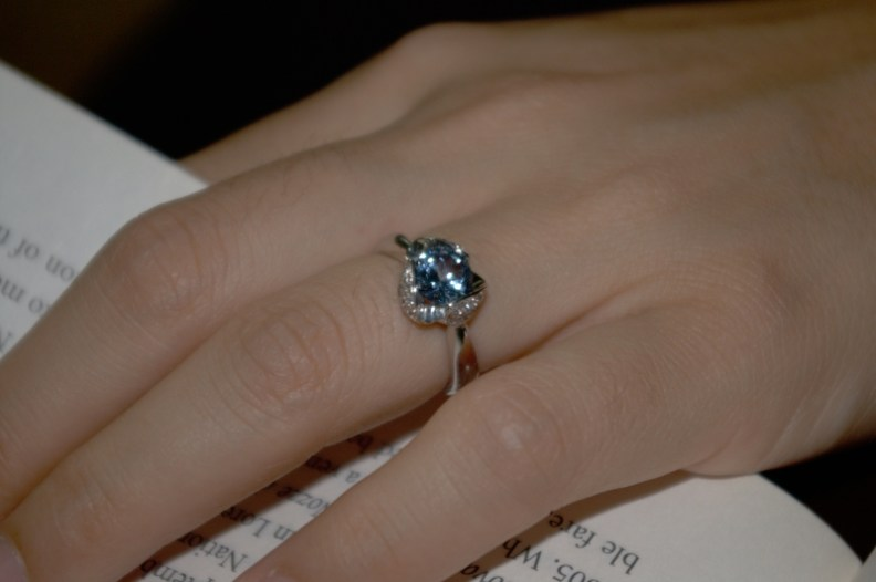 Lime's engagement ring