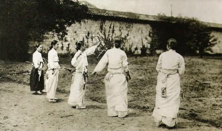 Female Archers of Old Korea
