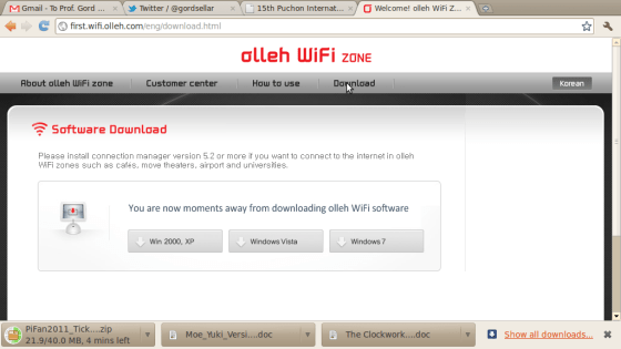Screenshot-Welcome! olleh WiFi Zone. - Google Chrome