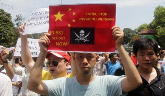 Photo Credit: REUTERS/Kham (VIETNAM - Tags: POLITICS CIVIL UNREST) -- Click for Source.