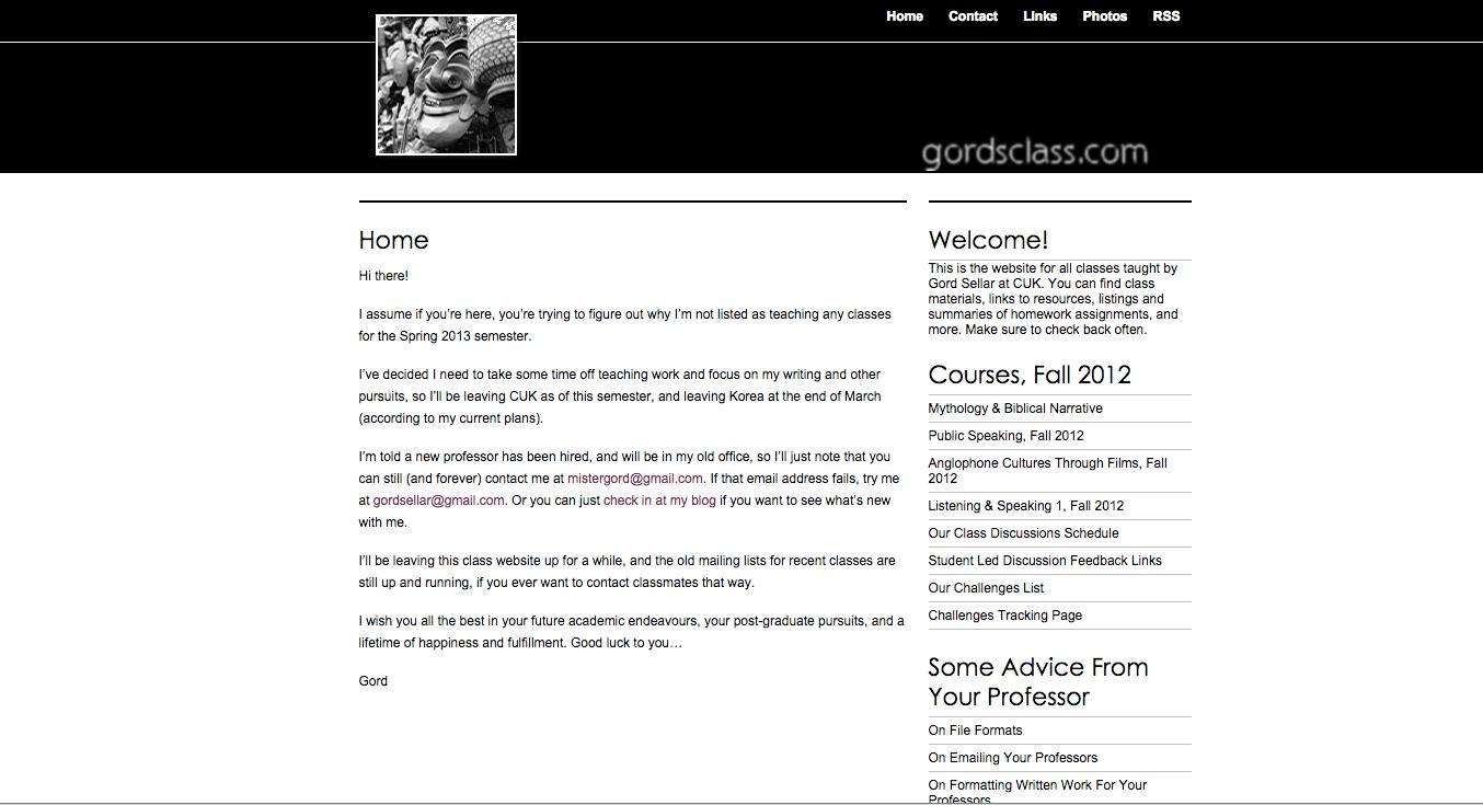 Teaching | gordsellar com