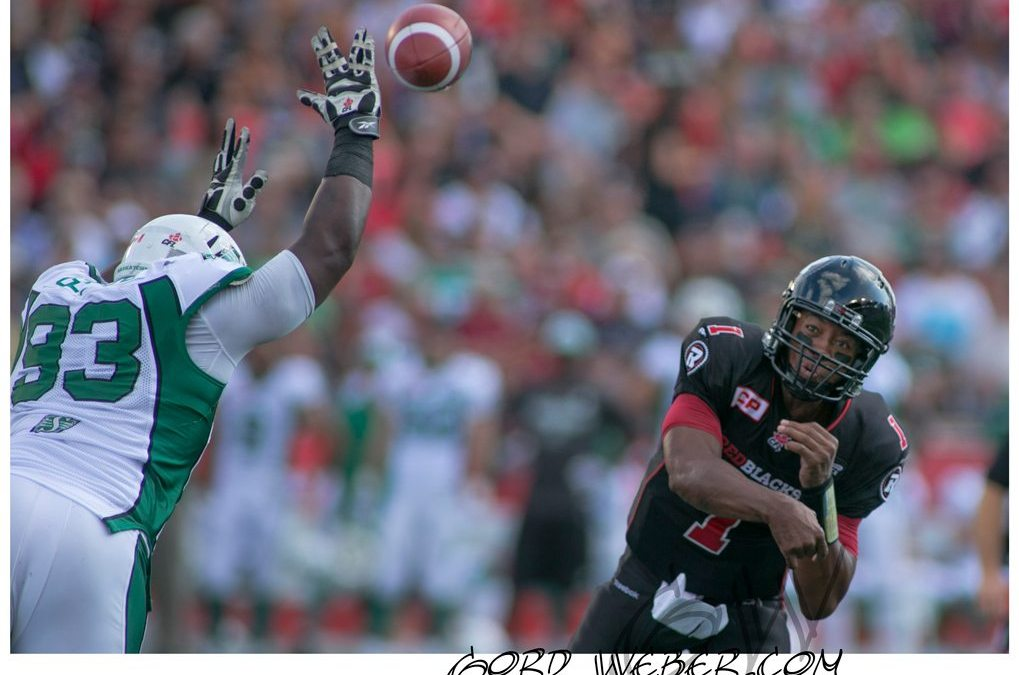 Saskatchewan Roughriders vs Ottawa Redblacks