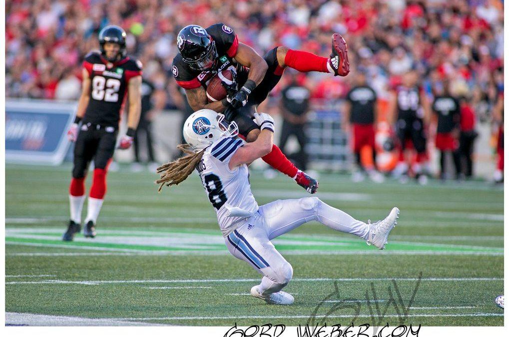 Toronto Argonauts vs Ottawa Redblacks