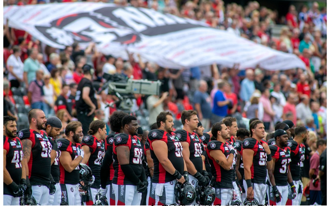 Redblacks vs Alouettes