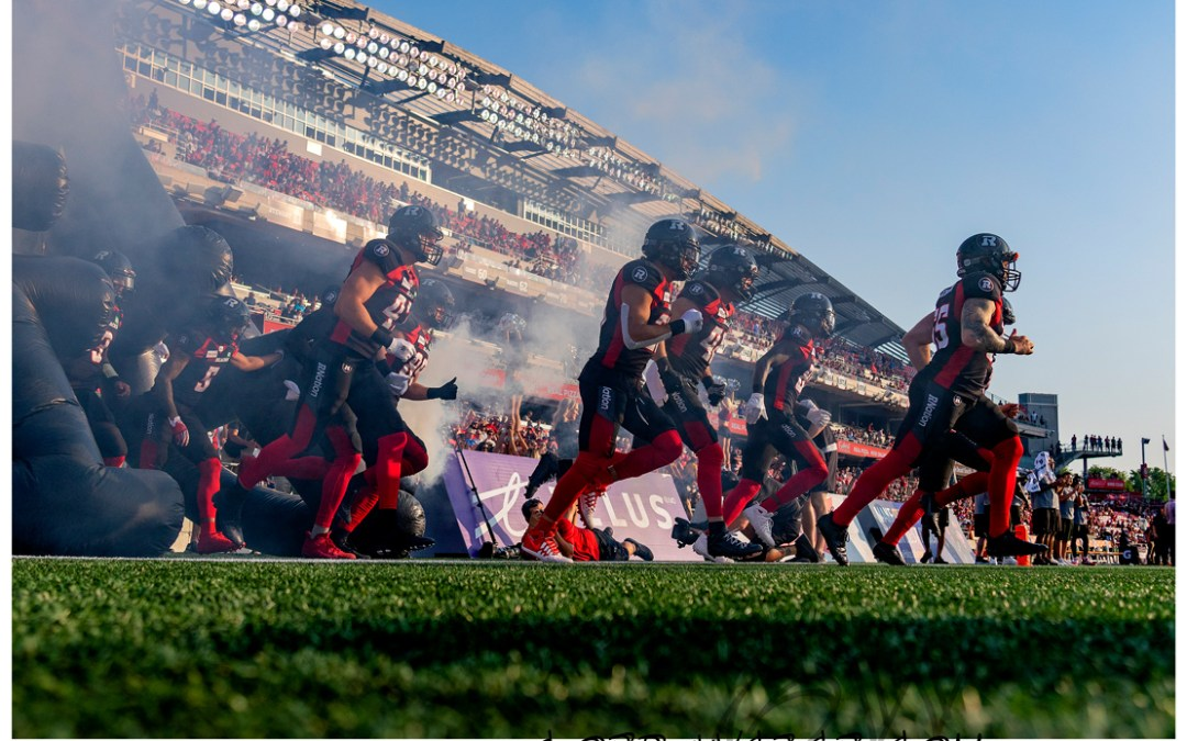 Redblacks vs Stampeders 2019
