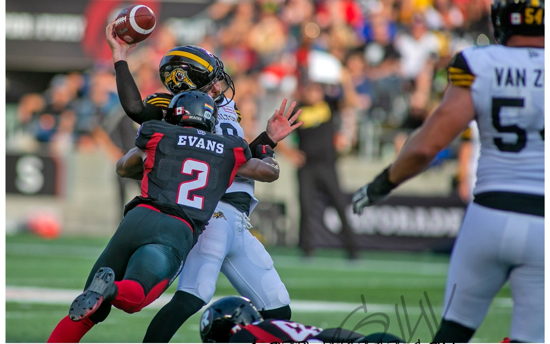 Redblacks vs Hamilton 2019