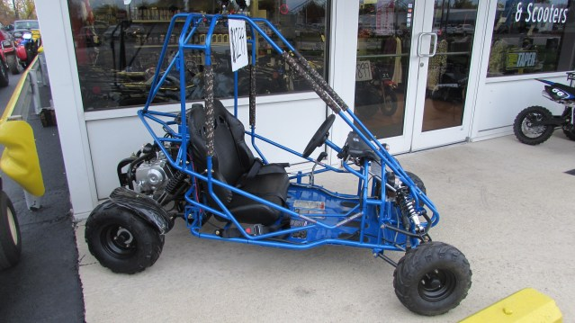 110cc Go Kart w/ Reverse (Side View)