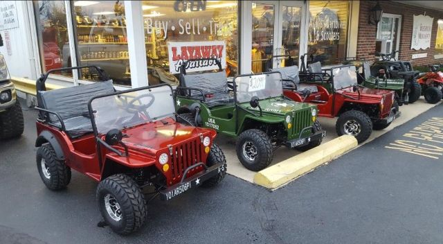 125cc Mini Jeeps - $2399
