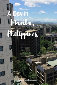 A Day in Manila, Philippines