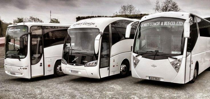 Gorey Coach and Bus luxury coaches
