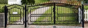 Large Driveway Gate