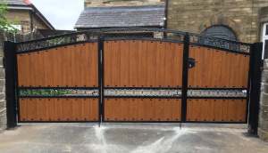 Wooden Clad Gate Example 3