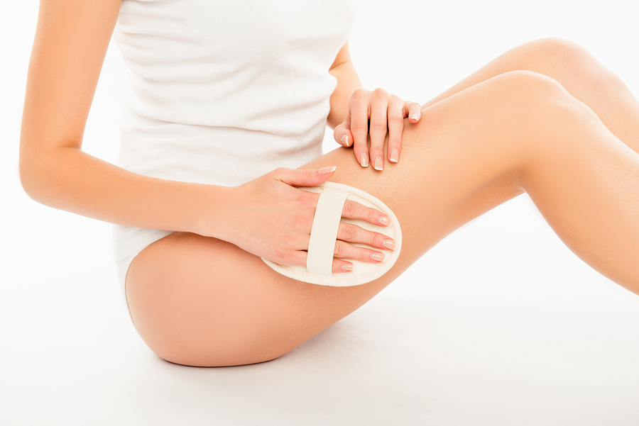 How to exfoliate legs with ingrown hairs