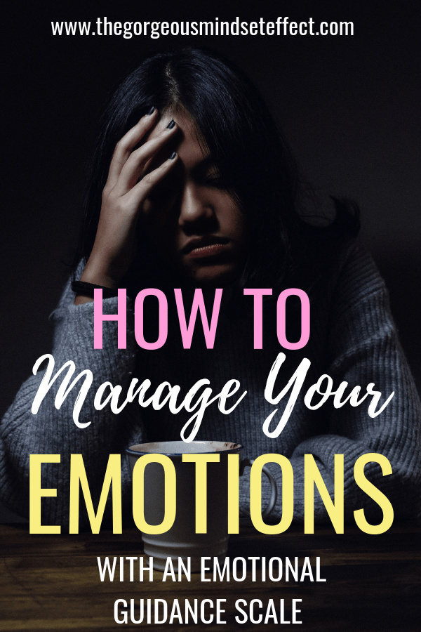 How to Manage Your Emotions with an Emotional Guidance Scale