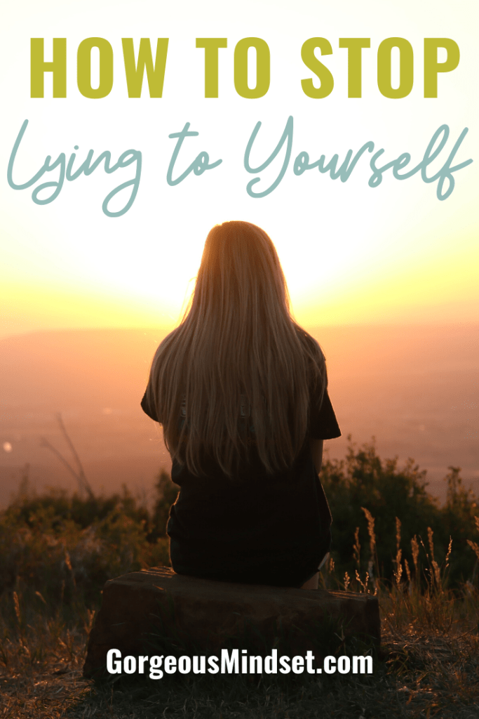 It's only human that we have self-doubt. However, we have to learn how to stop lying to ourselves about our self-worth and overcome the fear that stops us from being great. Here's how.