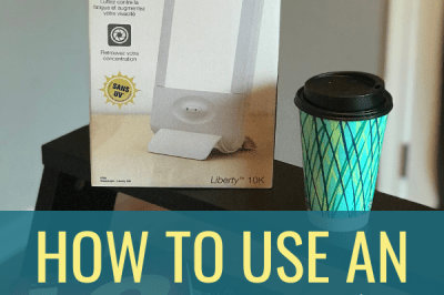 How To Use An Energy Light for Seasonal Affective Disorder