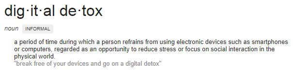 What is a Digital Detox?